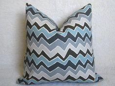 Chevron Pillow by WillaSkyeHome, $28.00