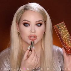 "52.5k Likes, 791 Comments - NikkieTutorials (@nikkietutorials) on Instagram: ""Playing with the NEW @urbandecaycosmetics Naked HEAT Collection in my new video NOW up on my…"""