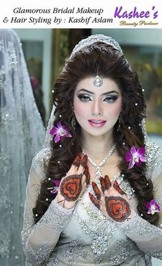 Stylish Bridal Make-up & Hairstyle For 2015. Parlor arrives. In this post i'm intending to impart to you these Glamorus Bridal Makeup By Kashees.