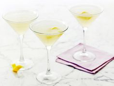 Lemon and Vodka Martinis recipe