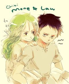 Law and Monet. Wow