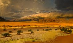 Stormy evening sunset at Wolverdans Nature reserve Namibia. Stormy Wolverdans by William - Jeff Thomas on 500px