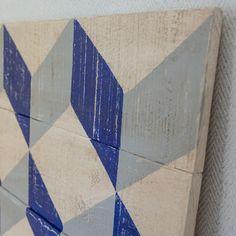 Wooden headboard  www.ruevintage74.com