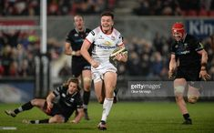 Jacob Stockdale scores the winning try in the final minute as Ulster edge past Ospreys in a low-scoring encounter in Belfast. Above And Beyond, Belfast, Scores, Rugby, Finals, Running, Racing, Keep Running, Rugby Sport