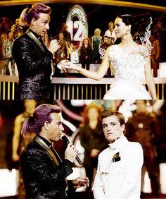 Peeta and Katniss Fanart - Catching Fire - Pre-Games Interviews - peeta-mellark-and-katniss-everdeen fã Art