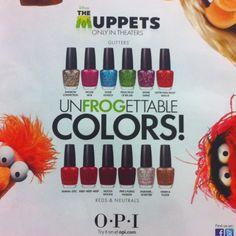 Muppets OPI :o)