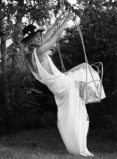 Campagne 2014 - Rime Arodaky boho style wedding dress