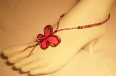 Barefoot Sandals - $10.00  Feel free to contact me to design your own!