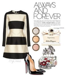 Untitled #565 by crisa-gloria-eduardo on Polyvore featuring polyvore, fashion, style, STELLA McCARTNEY, Christian Louboutin, Alexander McQueen, Salvatore Ferragamo, By Terry, women's clothing, women's fashion, women, female, woman, misses and juniors