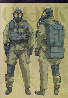 forzamentis:  Naked Snake, from the Metal Gear Solid 3 Official Guide by Piggyback. The scan is mine.