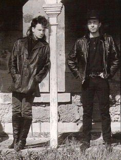 Very young Bono & Edge