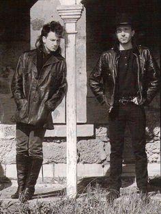 Very young Bono & Edge