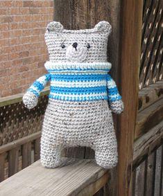 Ravelry: Lazybones bear pattern by Mari-Liis Lille