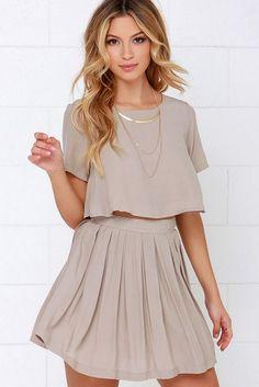Two-Piece Dresses Glamsugar.com Cute outfit