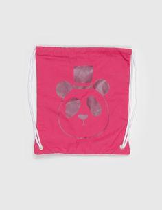 1 mini rodini panda gym bag pink