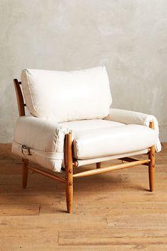 Premium Leather Rhys Chair #anthropologie