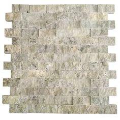 Gümüş 2.5X5 Fileli Patlatma Taş     www.tasdekorcum.com #dekor #patlatmatas #mozaik #dogaltas#naturalstonemosaic #naturalstone  Natural Stone Mosaic Natural Stone Wall Natural Stone Mosaic Subway Wall Tile Fileli Patlatma Taş Doğal Taş Patlatma Mozaik