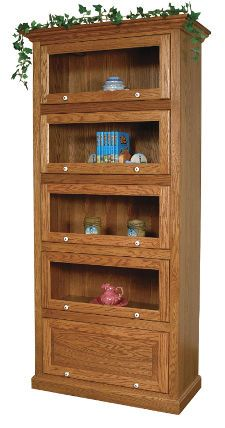 33% OFF Amish Furniture - Hand Crafted Shaker and Mission Furniture Online Outlet Store: Barrister Bookcase: Oak