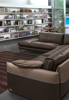 "New ""Mood"" sectional. #GAMMA"