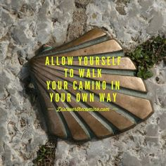 I will walk the Camino on my own way.