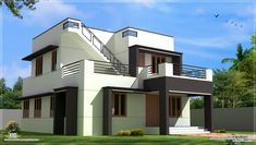 Today Indian Home Design showcase a Kerala home design idea Aquilainterio Thiruvananthapuram Kerala. Home specification Style :Modern Number Of Floors Number Of Bedrooms BHK Living About Kerala home design idea Aquilainterio Small Modern House Plans, Modern Small House Design, Small Modern Home, Simple House Design, Minimalist House Design, Tiny House Design, Modern Minimalist, Design Homes, Modern Homes