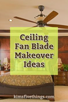 Best Ceiling Fan Blade Makeover Ideas to update your decor. Ceiling fan decorative covers. Palm leaf ceiling fan blades set of 5 Ceiling fans to be proud of.