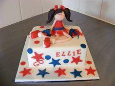 Cheerleader Cake for Ellie, via Flickr. 5