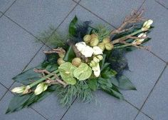 Grave Decorations, Flower Decorations, Christmas Decorations, Funeral Floral Arrangements, Modern Flower Arrangements, Funeral Flowers, Wedding Flowers, Arte Floral, Decoration Table