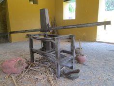 Quinta de San Pedro Alejandrino en Santa Marta, trapiche de la época para moler la caña de azúcar