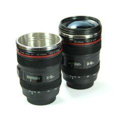 Camera Lens Mug - Novelty gift Camera Lens Mug, Novelty Gifts, Binoculars, Canon, Mugs, Tableware, Dinnerware, Cannon, Cups