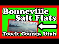 Bonneville Salt Flats - Tooele County Utah  Episode 9  This time we take you to the desert landscape of western Utah where the moon-like surface of the Bonneville Salt Flats have naturally materialized.  The Bonneville Salt Flats is a densely packed salt pan in Tooele County in northwestern Utah. The area is a remnant of the Pleistocene Lake Bonneville and is the largest of many salt flats located west of the Great Salt Lake.  Find out more about the Bonneville Salt Flats here…