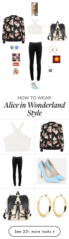 """""""K S D F M"""" by queen-kaitlyn on Polyvore featuring BCBGMAXAZRIA, rag & bone, JustFab, New Look and LASplash"""