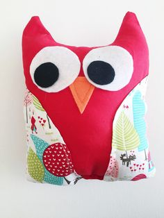 A personal favorite from my Etsy shop https://www.etsy.com/listing/285957135/stuffed-owl-owl-plushie-owl-pillow