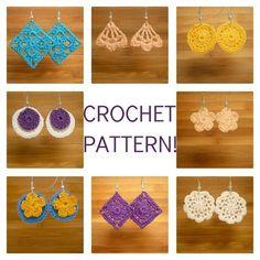 Dainty Dangles Crocheted Earrings | Craftsy