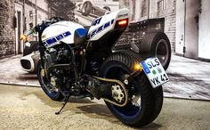 """Yamaha XJR 1300 Cafe Racer """"Ronin"""" by Motorrad Klein GmbH #motorcycles #caferacer #motos 