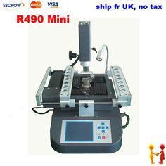 835.00$  Buy now - http://alif9l.worldwells.pw/go.php?t=1847880350 - Ship fr UK HT-R490 mini BGA Rework Station, Hot Air And Infrared Heating, HONTON R490 MINI BGA Machine 835.00$