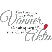 Väggord: Man kan aldrig förlora vänner Calm Quotes, Me Quotes, Qoutes, Perfect Word, Life Motivation, Note To Self, Creative Writing, Wise Words, Quotations