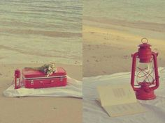 On pique nique a la plage
