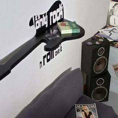 Guitar Themed Bedroom Decor