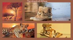 voor het thema 'into the wild' is inspiratie opgedaan in Africa. Je ziet op de afbeelding o.a.  sandalen van Tamaris.