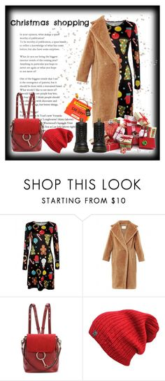 """""""Time for christmas shopping"""" by krista-zou on Polyvore featuring Chloé, Dr. Martens, contest, polyvorefashion, polyvorecontests and rosegal"""