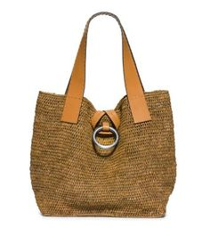 Best Handbags and Purses   Picture Description Accessories that feel like  an instant vacation  Michael Kors Janey Large Raffia Tote 12b08ad750