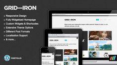 Gridiron – Responsive Premium WordPress Portfolio Theme