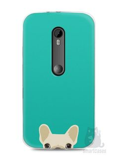 Capa Moto G3 Cachorro Bulldog Francês #2 - SmartCases - Acessórios para celulares e tablets :)