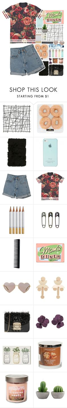 """""""My floor is a mess"""" by biteesizedd ❤ liked on Polyvore featuring Nourison, PèPè, Tim Holtz, GHD, Wildfox, MANGO, Furla and Oliver Gal Artist Co."""