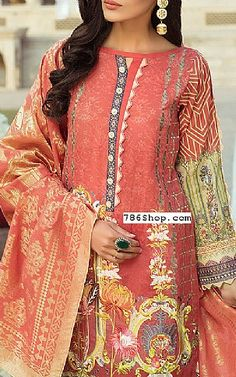 Pakistani dresses and Indian clothing online. Buy Pakistani Clothing in USA, UK. Simple Pakistani Dresses, Pakistani Fashion Casual, Pakistani Dress Design, Pakistani Outfits, Fancy Dress Design, Stylish Dress Designs, Designs For Dresses, Neck Designs For Suits, Dress Neck Designs