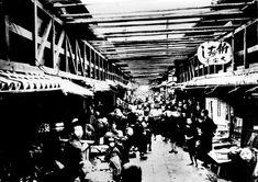 錦市場(大正10) Taisho Era, Kyoto, Lost, Japanese, Places, Japanese Language, Lugares