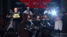 #BABYMETAL performed on The Late Show @colbertlateshow w/ Stephen Colbert @StephenAtHome on CBS! #LateShow #LSSC https://www.youtube.com/watch?v=rZApf9c8Tes