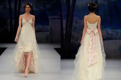 inside printed wedding dress via French Wedding Style #weddingdress
