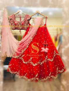Stunning red color designer blouse with floret lata design hand embroidery gold thread work. Red color lehenga with hand embroidery work. call/watsapp : for details 08 December 2018 WhatsApp us for Purchase & Inquiry : Buy Best Designer Collection from by Designer Bridal Lehenga, Indian Bridal Lehenga, Indian Bridal Outfits, Indian Designer Outfits, Half Saree Lehenga, Lehnga Dress, Sari, Half Saree Designs, Lehenga Designs